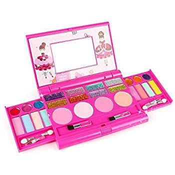 tomons kids washable makeup kit fold out makeup palette